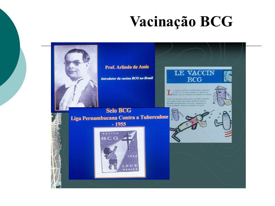 Vacina BCG: liofilizada em ampolas multidoses Conservação: 2 a 8 o C, protegida da luz solar direta.