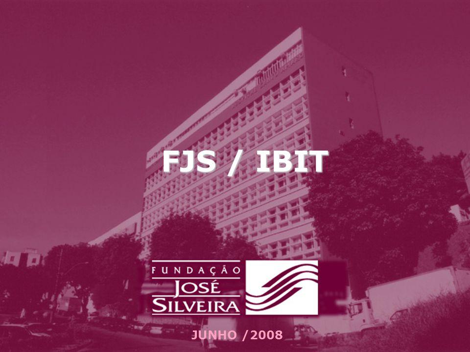 FJS /IBIT FUNDAÇÃO JOSÉ SILVEIRA INSTITUTO BRASILEIRO PARA INVESTIGAÇÃO DA TUBCULOSE PROGRAMA DE CONTROLE DA TUBERCULOSE