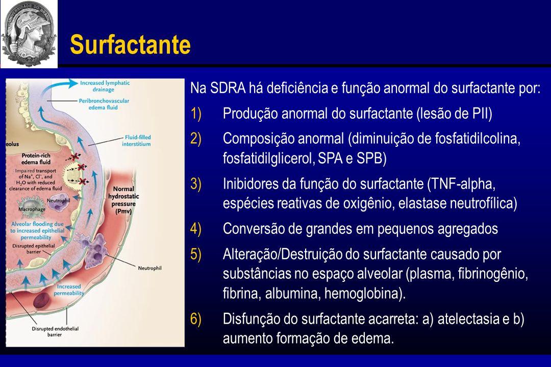 Surfactante Exógeno Exosurf ARDS Sepsis Study.Anzueto et al.