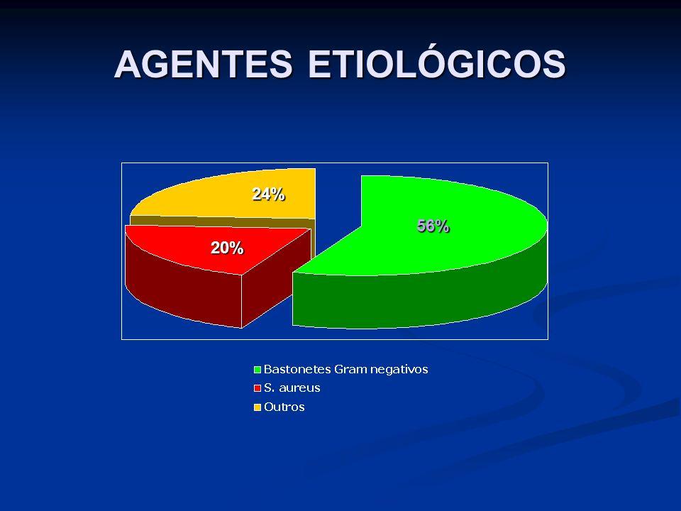 AGENTES ETIOLÓGICOS 56% 20% 24%