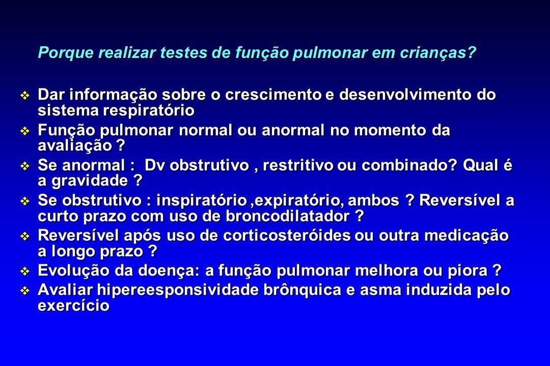 ESFORÇO VARIÁVEL TERMINAÇÃO PRECOCE TEMPO (s) VOLUME (L) FLUXO (l/s) B 5,04,03,02,01,00,0 0,0 2,0 4,0 6,0 0,0 1,0 2,0 3,0 4,0 5,0 10,08,06,04,02,00,0 VOLUME (l) A