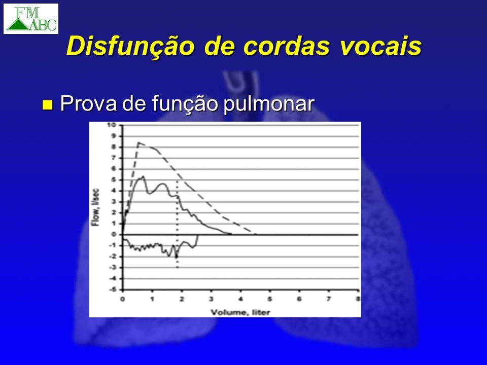 Prova de função pulmonar Prova de função pulmonar