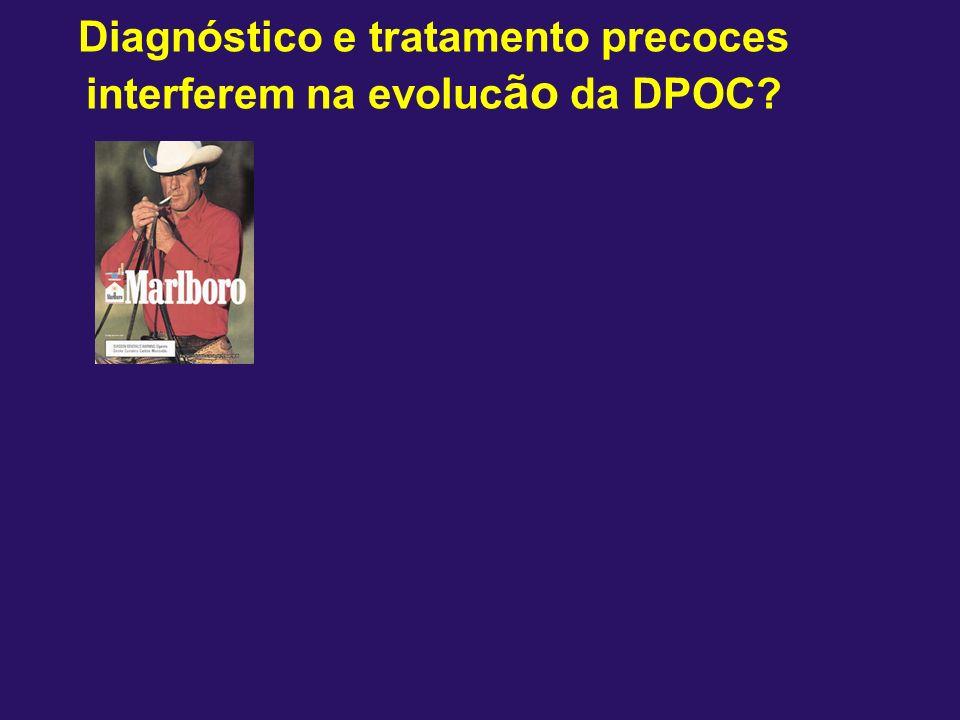 Diagnóstico e tratamento precoces interferem na evoluc ão da DPOC?