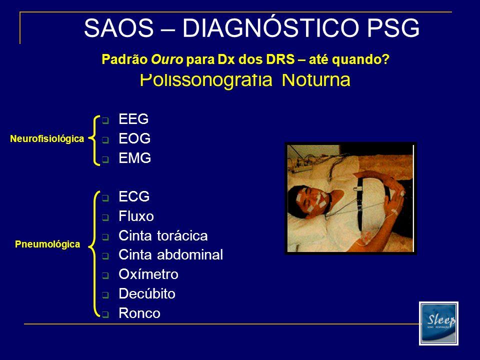 Diagnóstico Solicitação de polissonografia