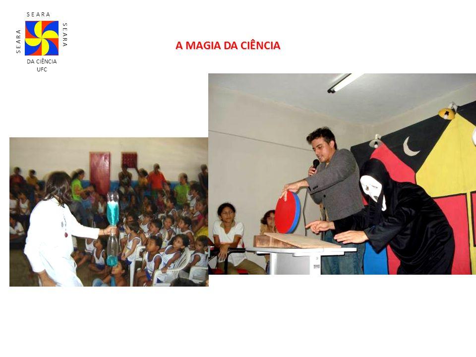 S E A R A DA CIÊNCIA UFC A MAGIA DA CIÊNCIA