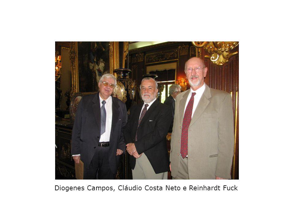 Marcelo Viana, Luiz Edmundo H. B. Costa Leite (Subsecretário de C&T) e Luiz Davidovich