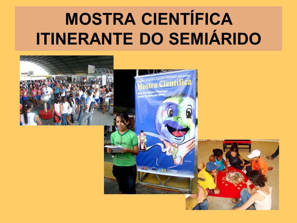 MOSTRA CIENTÍFICA ITINERANTE DO SEMIÁRIDO