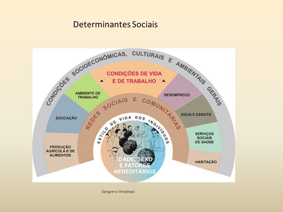 Dahlgren e Whitehead Determinantes Sociais