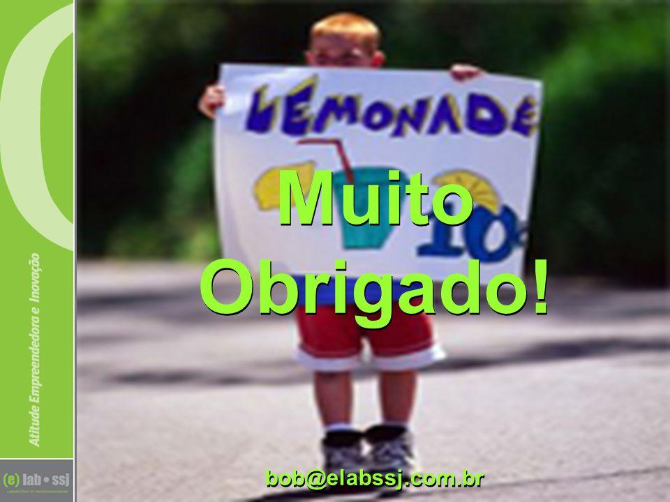 Muito Obrigado! bob@elabssj.com.br Muito Obrigado! bob@elabssj.com.br