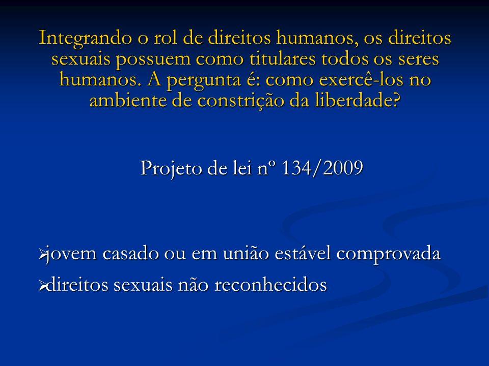 Integrando o rol de direitos humanos, os direitos sexuais possuem como titulares todos os seres humanos. A pergunta é: como exercê-los no ambiente de