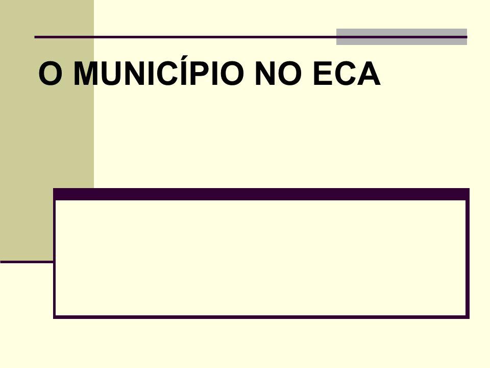 RESPONSÁVEIS PELA POLÍTICA DE ATENDIMENTO Art.86.