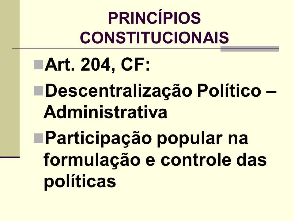 DIRETRIZES DA POLÍTICA DE ATENDIMENTO NO ECA Art.88.