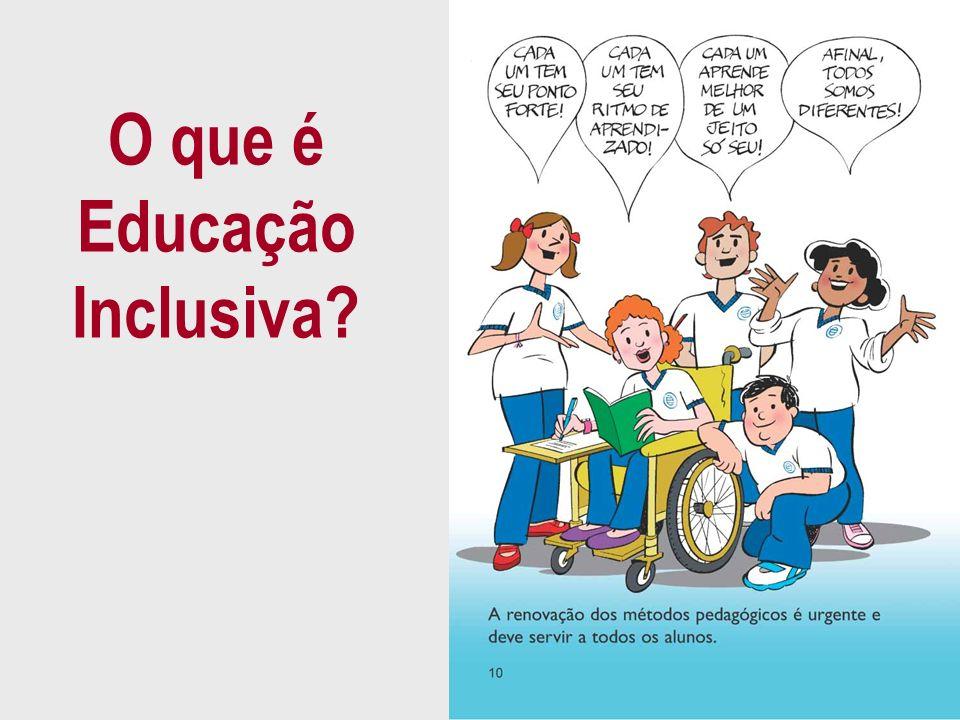 O que é Educação Inclusiva?
