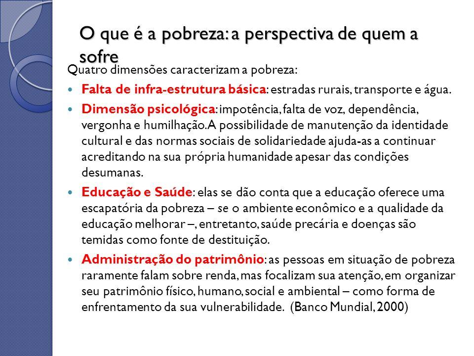 Em nossa experiência de trabalho no Centro de Recuperação e Educação Nutricional (CREN) com a população moradora em favelas, crianças subnutridas e suas famílias observamos, frequentemente, todos os fatores relatados acima.