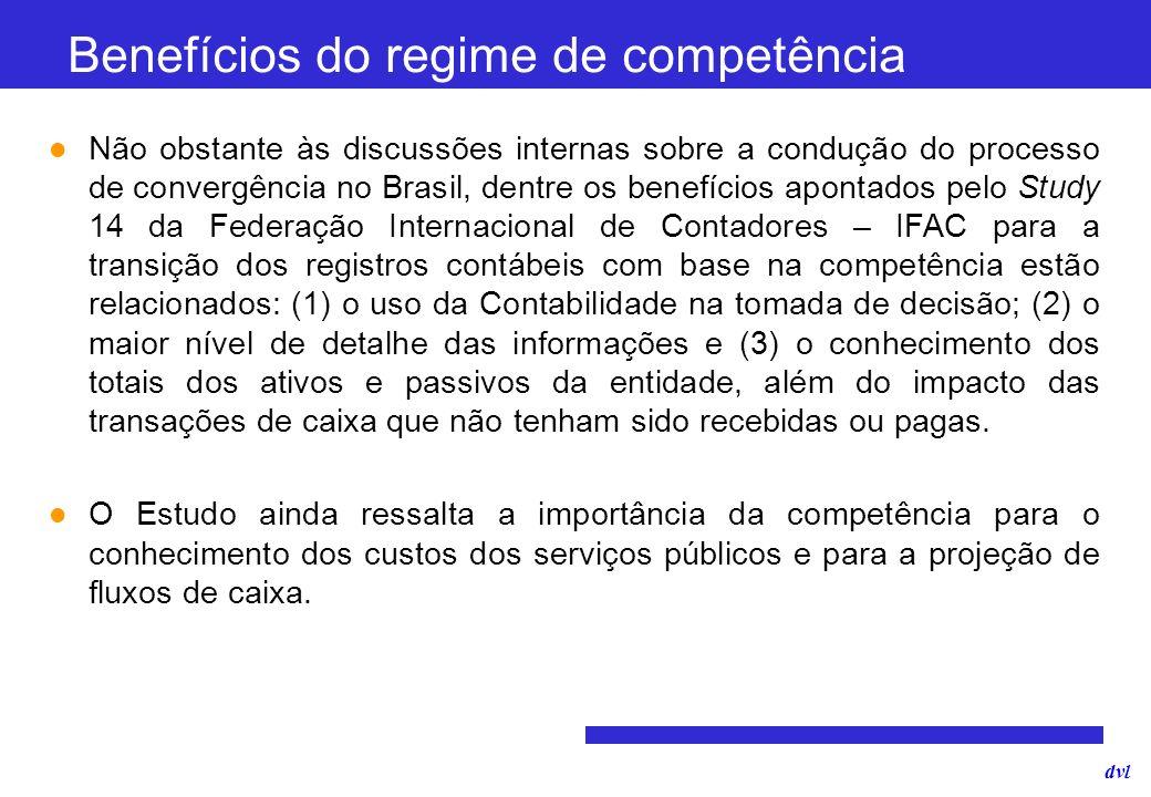 dvl Não obstante às discussões internas sobre a condução do processo de convergência no Brasil, dentre os benefícios apontados pelo Study 14 da Federa