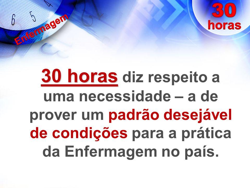 Trabalhadores de Enfermagem no Brasil (2009): 1.243.804 TOTAL É a profissão que está presente em todas as instituições assistenciais de saúde.