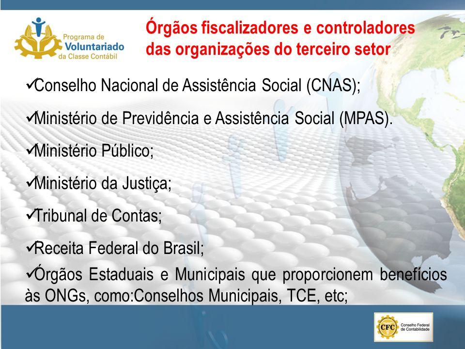 Conselho Nacional de Assistência Social (CNAS); Ministério de Previdência e Assistência Social (MPAS). Ministério Público; Ministério da Justiça; Trib