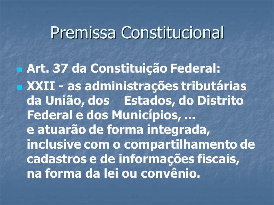 Objetivos Promover a integração dos Fiscos mediante a padronização e compartilhamento das informações contábeis e fiscais, respeitadas as restrições legais.