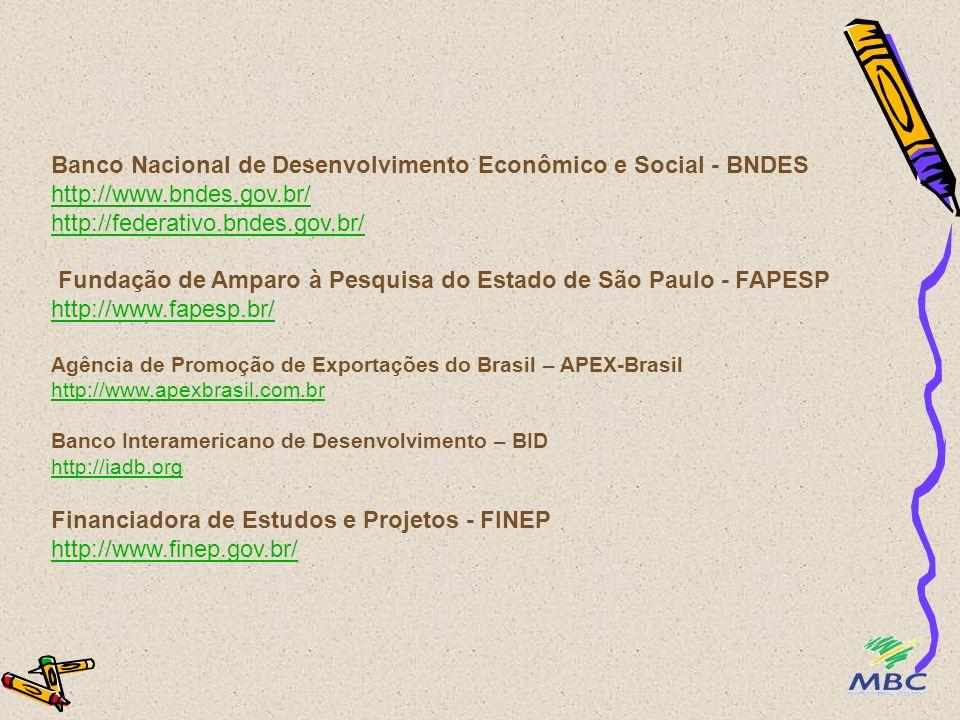 Instituições de fomento à Competitividade - Desenvolvimento Econômico -