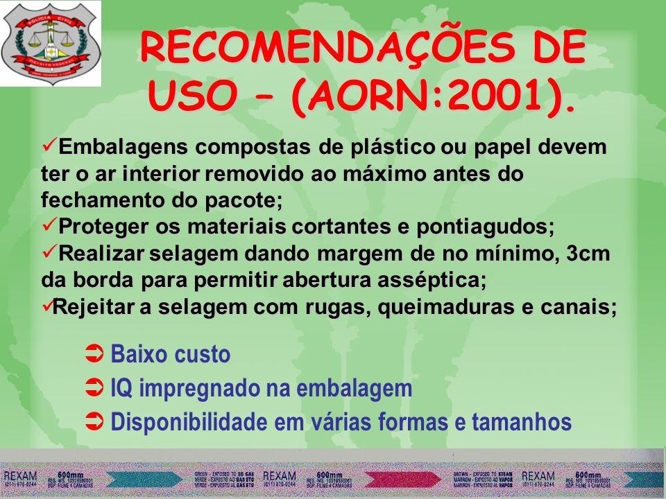 PAPEL GRAU CIRURGICO: NBR 12946 / BS-EN 868-5). FOLHAS;BOBINAS;ENVELOPES. PORTA ROLOS COM CORTADOR