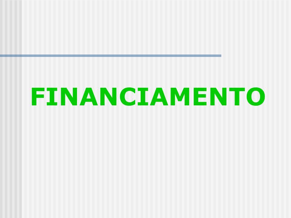 ALTERNATIVAS Financiamento X Melhoria da Gestão