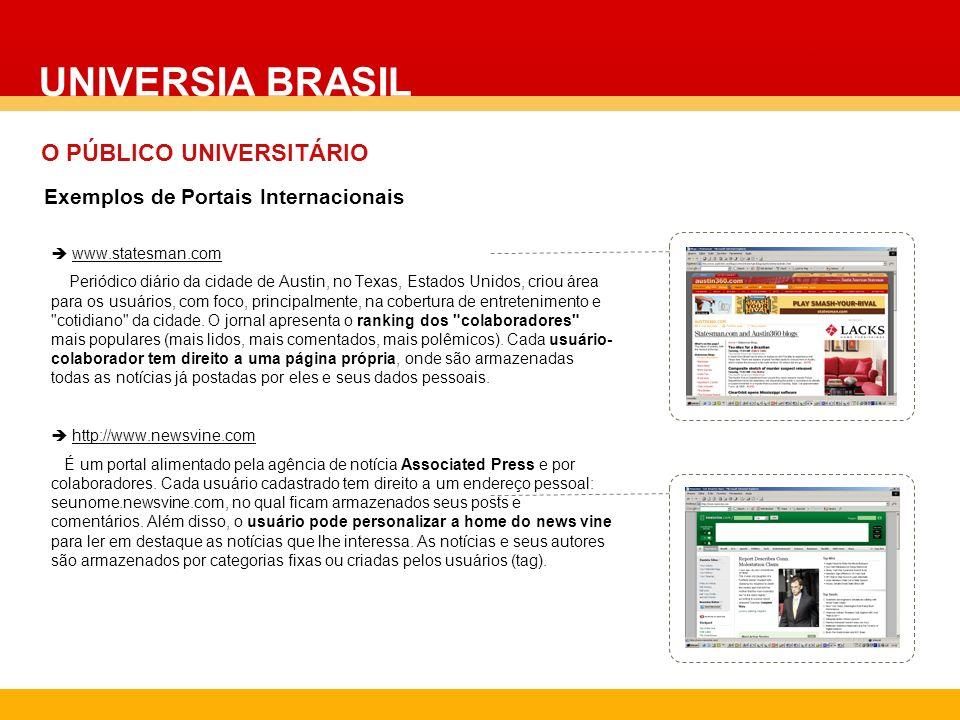 www.statesman.com Periódico diário da cidade de Austin, no Texas, Estados Unidos, criou área para os usuários, com foco, principalmente, na cobertura