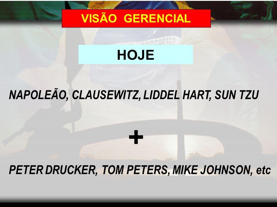 VISÃO GERENCIAL ONTEM NAPOLEÃO, CLAUSEWITZ, LIDDEL HART, SUN TZU