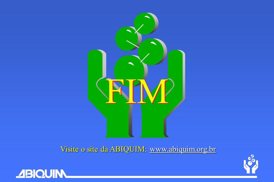 FIM Visite o site da ABIQUIM: www.abiquim.org.br
