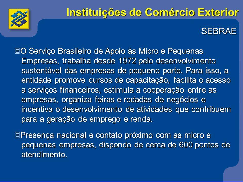 SEBRAE 3O Serviço Brasileiro de Apoio às Micro e Pequenas Empresas, trabalha desde 1972 pelo desenvolvimento Empresas, trabalha desde 1972 pelo desenv