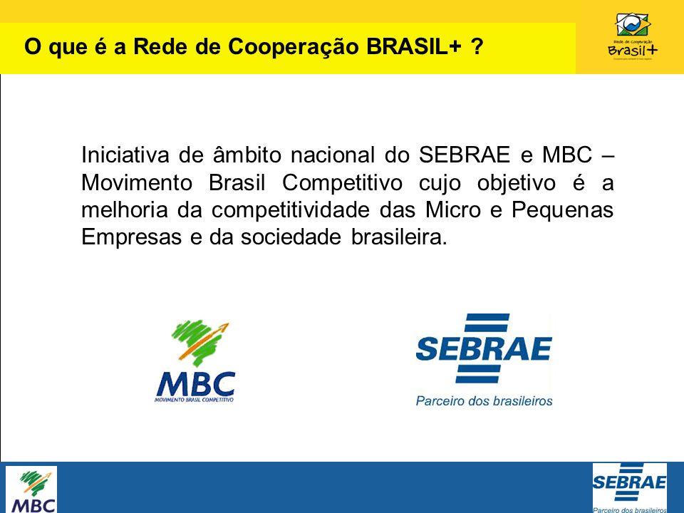 Iniciativa de âmbito nacional do SEBRAE e MBC – Movimento Brasil Competitivo cujo objetivo é a melhoria da competitividade das Micro e Pequenas Empres