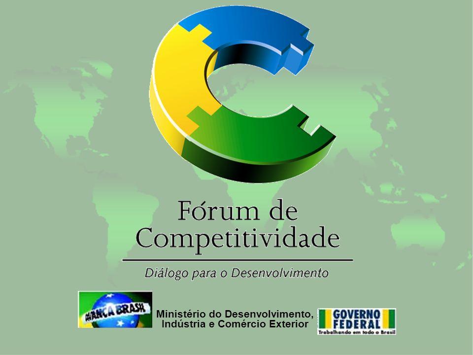 Programa Brasil Classe Mundial Fórum de Competitividade