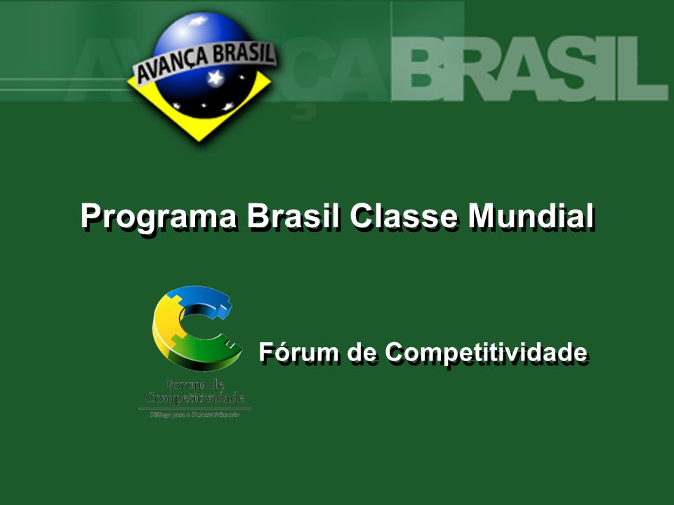 Futuro O Brasil mudou.