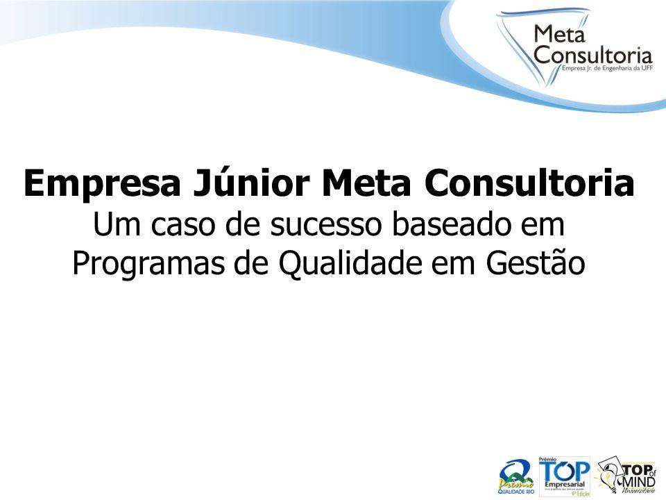 Empresa Júnior Meta Consultoria Um caso de sucesso baseado em Programas de Qualidade em Gestão