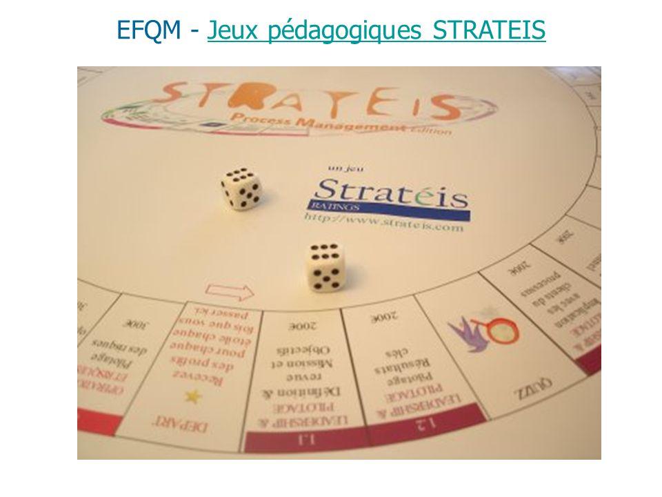 EFQM - Jeux pédagogiques STRATEISJeux pédagogiques STRATEIS