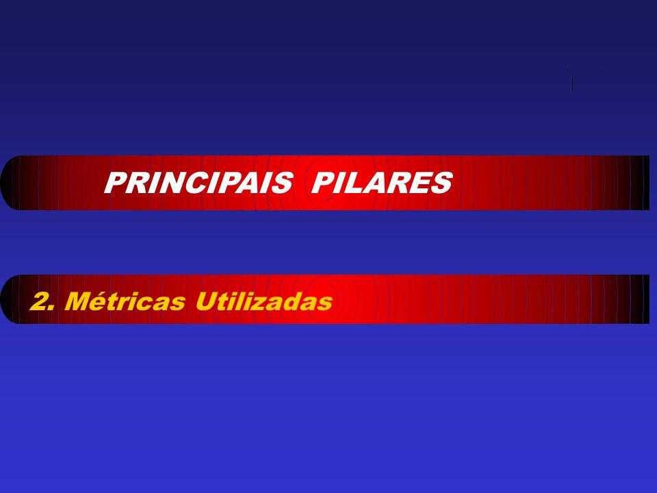PRINCIPAIS PILARES 2. Métricas Utilizadas