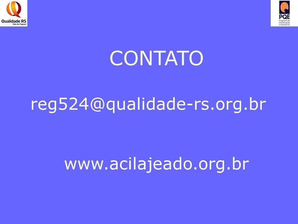 CONTATO reg524@qualidade-rs.org.br www.acilajeado.org.br