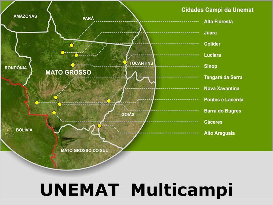 1994: A UNEMAT é convidada a participar do PAIUB.Três coleta de dados 1999, 2003 e 2005.