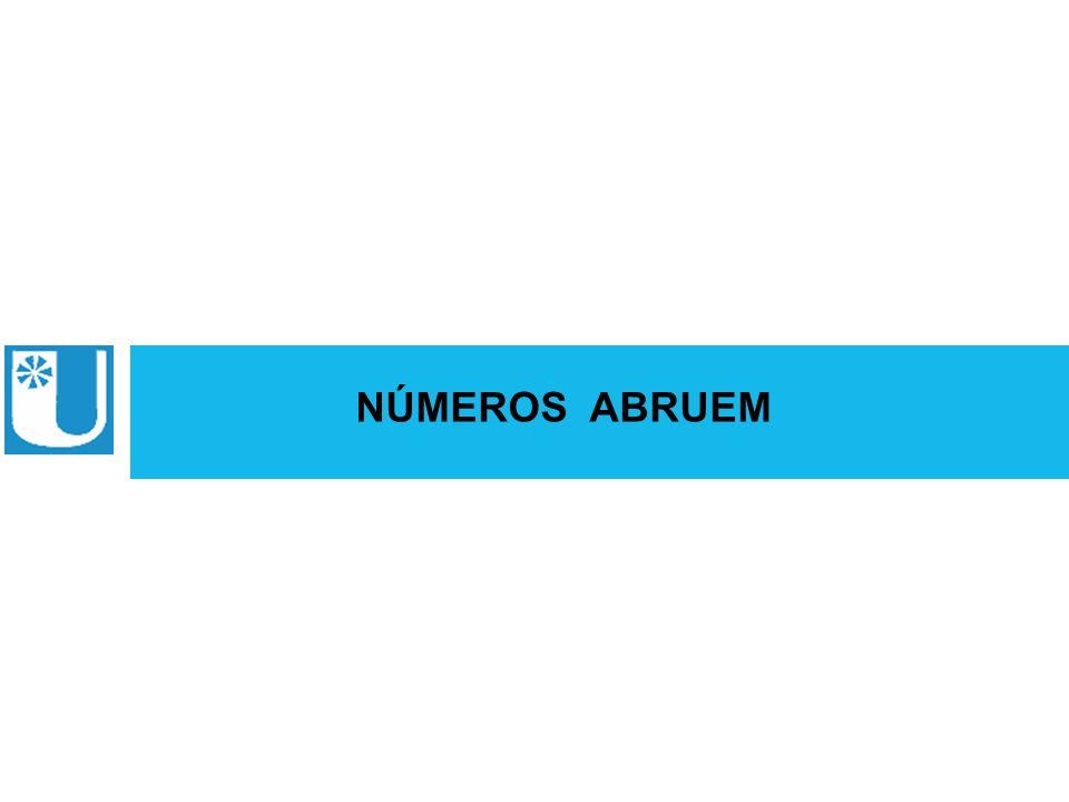 NÚMEROS ABRUEM