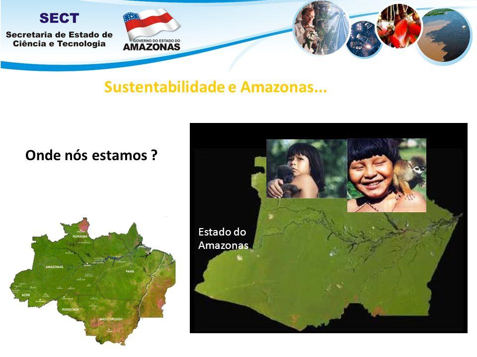 Estado do Amazonas Sustentabilidade e Amazonas... Onde nós estamos ?