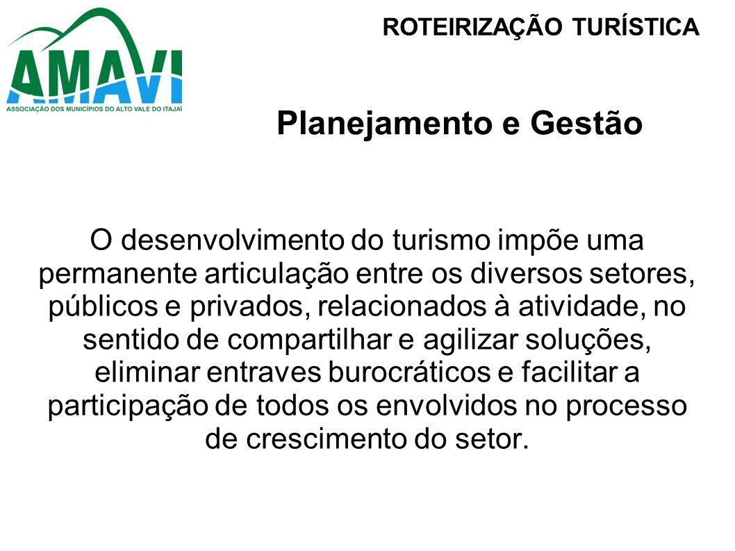 Define as regiões turísticas como estratégicas na organização do turismo para fins de planejamento e gestão.