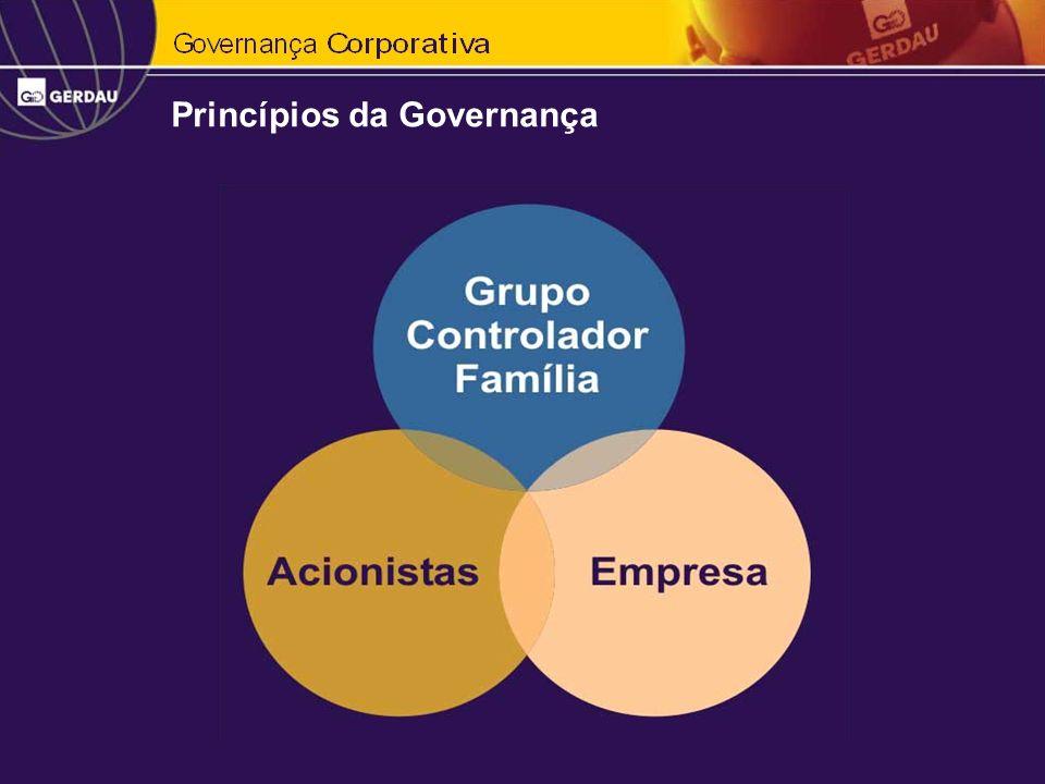 Princípios da Governança