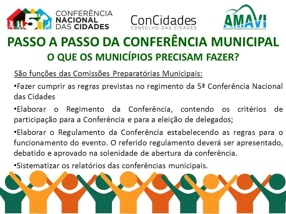 A Eleição do Conselho Municipal das Cidades, ou similar.