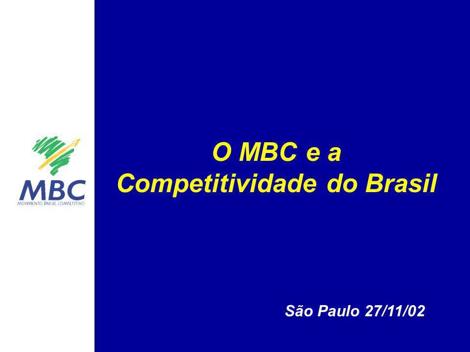 O MBC e a Competitividade do Brasil São Paulo 27/11/02