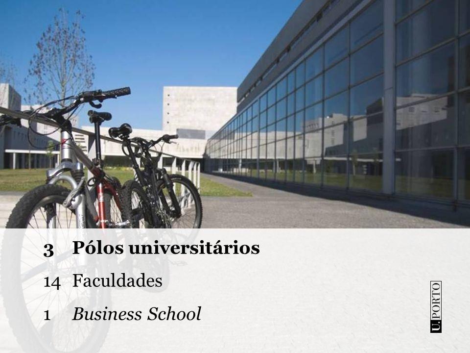Faculdade de Arquitectura Faculdade de Belas Artes Faculdade de Ciências Faculdade de Ciências da Nutrição e Alimentação Faculdade de Desporto