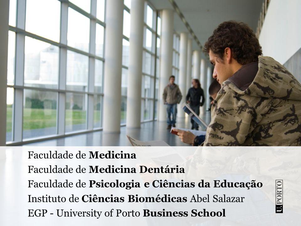 Resultados nos rankings internacionais Academic Ranking of World Universities 2008: 1 (Portugal) + 169-210 (Europa) + 402-503 (Mundo) QS World University Ranking (Times Higher Education) 501+ (Mundo)