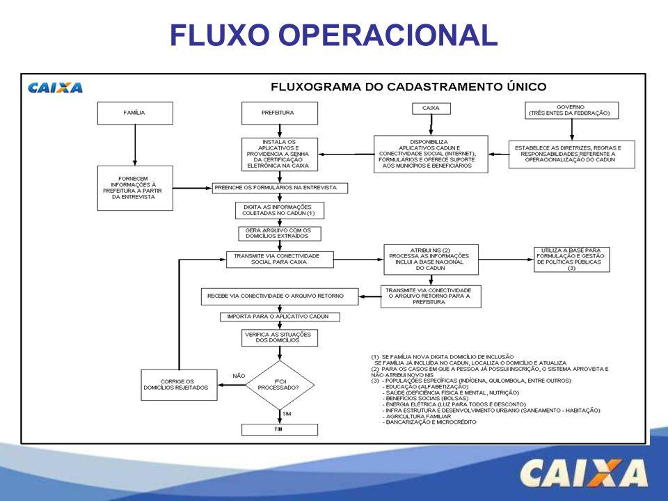 FLUXO OPERACIONAL
