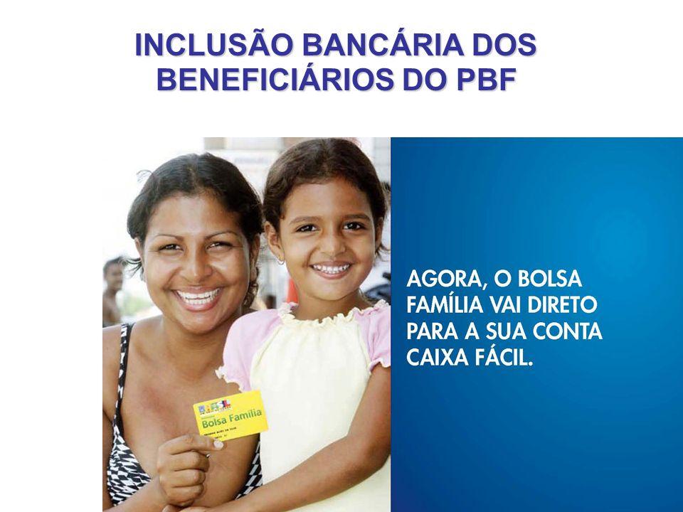 39 INCLUSÃO BANCÁRIA DOS BENEFICIÁRIOS DO PBF