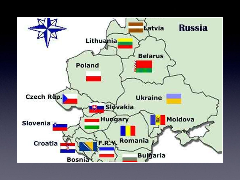União Soviética Rússia Armênia Azerbaijão Bielorrússia Cazaquistão Estônia Letônia Lituânia Geórgia Moldávia Quirguistão Tajiquistão Turcomenistão Ucrânia Uzbequistão