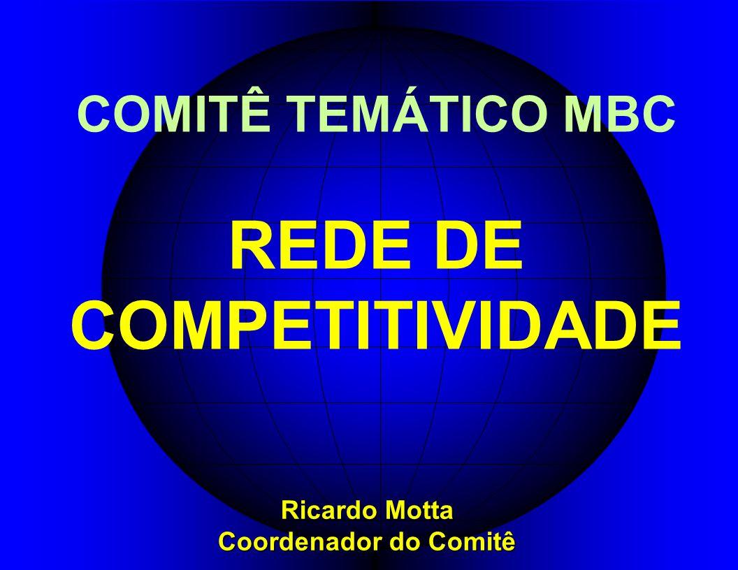 COMITÊ TEMÁTICO MBC REDE DE COMPETITIVIDADE Ricardo Motta Coordenador do Comitê