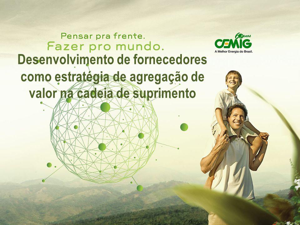 Classificação: Público ÁREA PARA TITULO Classificação: Desenvolvimento de fornecedores como estratégia de agregação de valor na cadeia de suprimento